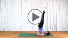 Video of the Shoulderstand practice